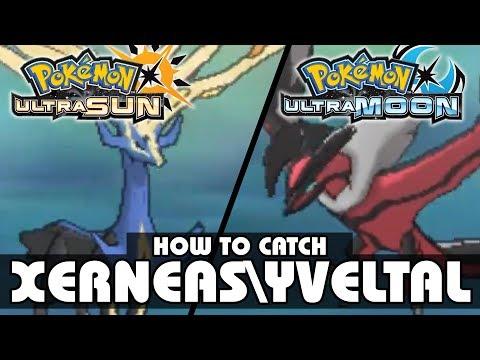 How to Catch Xerneas and Yveltal! | Pokémon Ultra Sun and Moon | Legendary Pokémon