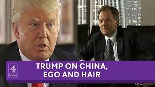 Donald Trump speaks to Matt Frei