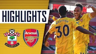 HIGHLIGHTS | Southampton 0-2 Arsenal | Premier League | June 25, 2020