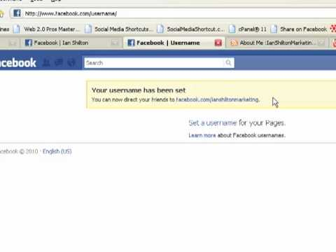 How to Set a Custom URL for Facebook Page