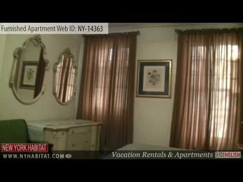 Manhattan, New York City - Video tour of a furnished apartment on East 52nd Street (Midtown East)
