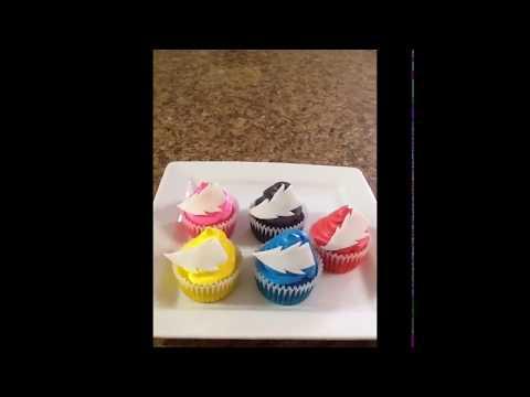 Power Rangers cupcakes ⚡️