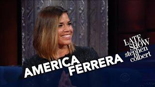 America Ferrera And Stephen Play