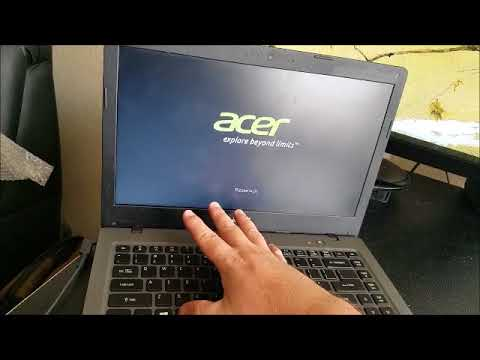 Acer One Cloudbook RESET 14 11 n15v2 A01 Full Factory Restore (WIndows 10 AO1-431 AO1-131 Notebook)