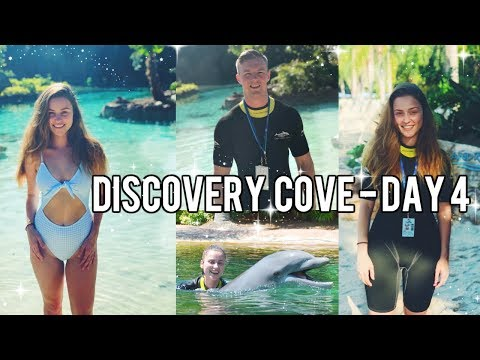 FLORIDA DAY 4: DISCOVERY COVE 2018!!
