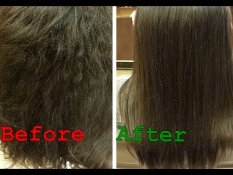Damaged Hair Treatment at Home | Get Silky, Shiny and Smooth Hair