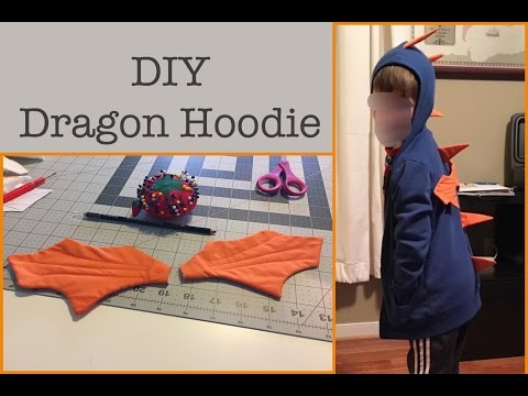 RVA Crafternoon: DIY Dragon Hoodie