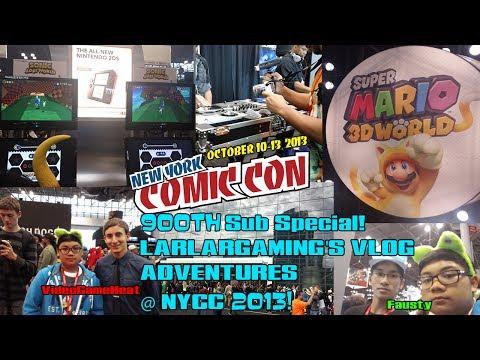 (900th Sub Special!) New York Comic-Con 2013 VLOG!