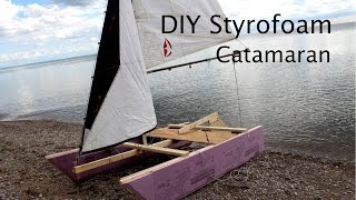 How to Make a Sailboat out of Styrofoam