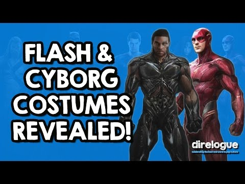 Flash & Cyborg Costume Breakdowns | Justice League