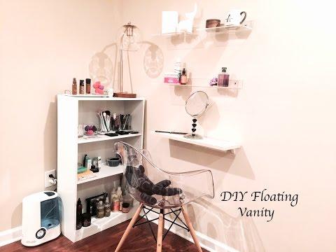 DIY Floating Vanity