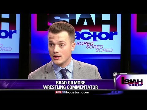 Balancing collegiate studies & Reality Of Wrestling commentary career for Brad Gilmore