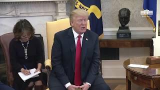 President Trump Meets with North Korean Defectors