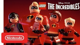 Disney PIXAR: LEGO The Incredibles Announcement Trailer - Nintendo Switch