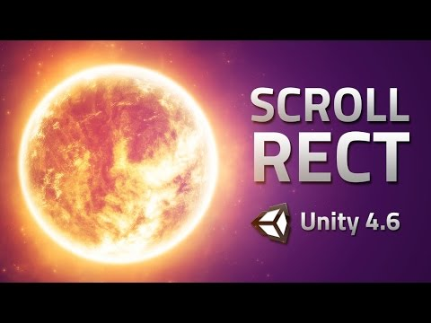 Content Scrolling - Unity 4.6 Tutorial