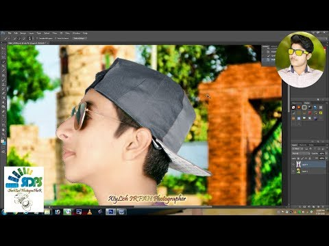 How to make Facebook Profile pic and face Editing Background on Photoshop Tutrial CS 6 4 XtyLish