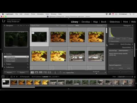 Integrating Lightroom with Photoshop Tutorial - Editing Images in Lightroom