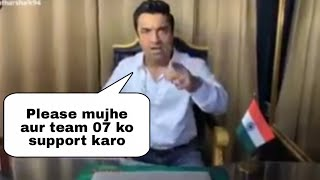Ajaz Khan FIRST Video After Jail | Requests Fans To Support Him And Team 07