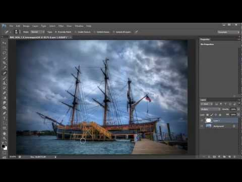 How to Create Dark Vignette Border Around Image in Photoshop and Eements