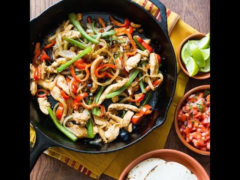 Chicken Fajitas Recipe for Tacos and More!