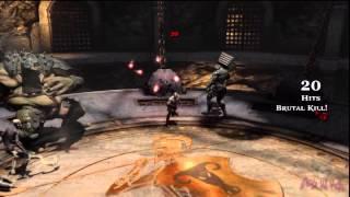 "God of War 3 Kratos Walkthrough Clips ""Bare Hands"" By: Willard Elvin Estacio 1080p HD"