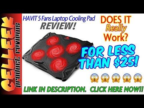 Laptop Cooling Pad Worth It? Havit Laptop Cooler Review: The Best Laptop Fan Cooler?