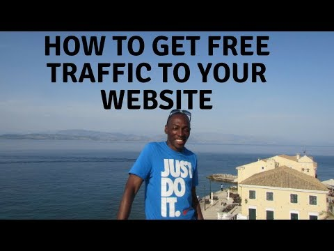 How To Get Free Traffic To Your Website Or Affiliate Link