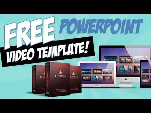 FREE PowerPoint Video Template - Levidio Cinemagic