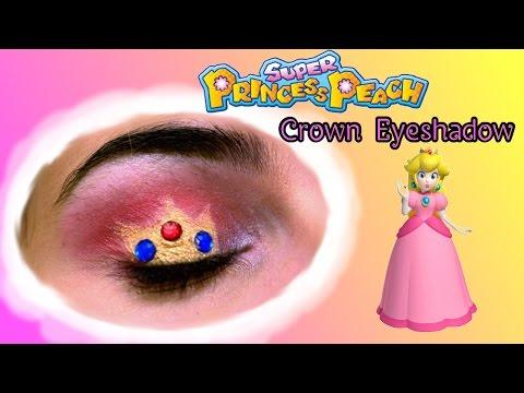 Princess Peach Crown EyeMakeup Tutorial | How to do Crown Eyeshadow
