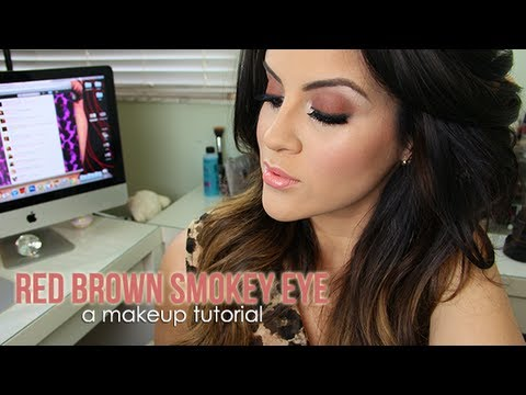 Video Of The Week: Red Brown Smokey Eye and Double Winged Liner