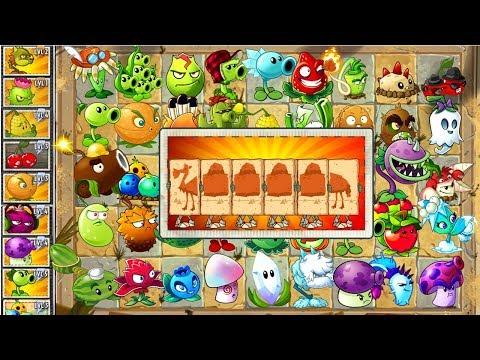 Camel Zombie vs All Plants Power UP in Plants vs Zombies 2 Fee and Premium Plants in PVZ 2 Primal