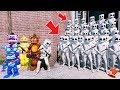 Can The Animatronics Amp Marshmello Defeat The Evil Marshmello Army  Gta 5 Mods Fnaf Kids Redhatter