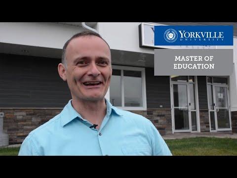 Master of Education in Adult Education Graduate Jeff Staflund