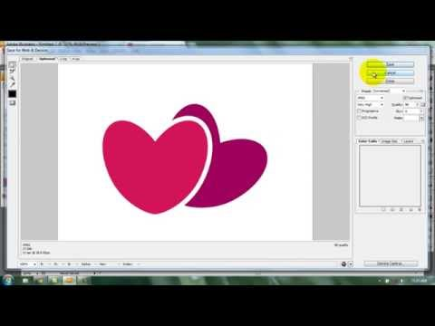 Tutorial Adobe Illustrator | How to make heart shape