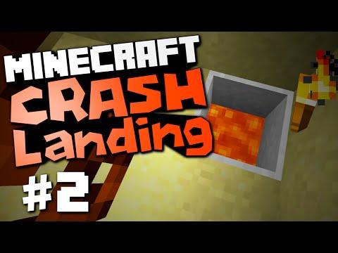 Minecraft Crash Landing #2