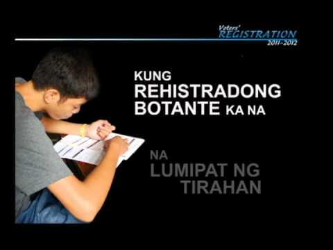 COMELEC Voter Registration Infomercial 2