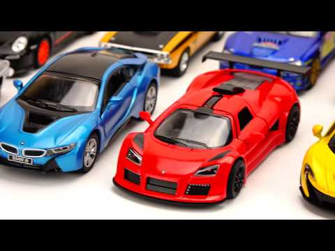 Car toy video for kids.