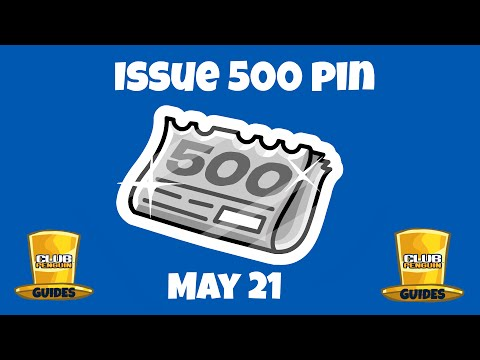 Club Penguin Issue 500 Pin Cheat!