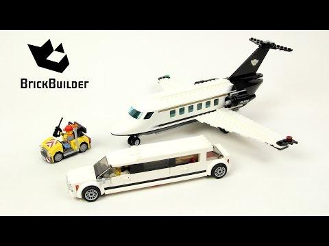 Lego City 60102 Airport VIP Service - Lego Speed Build