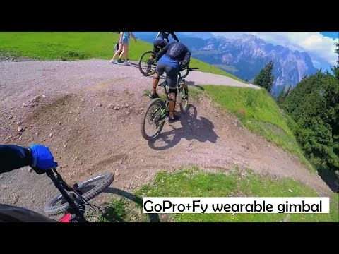 GoPro MTB Trail Riding in Austria | Fy wearable gimbal