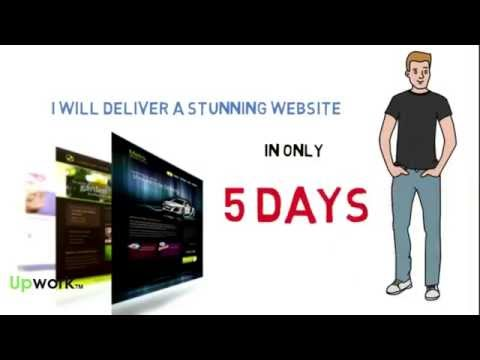 Web Designing And Development Upwork Intro Video