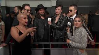 Halestorm Red Carpet Interview | 2019 GRAMMYs