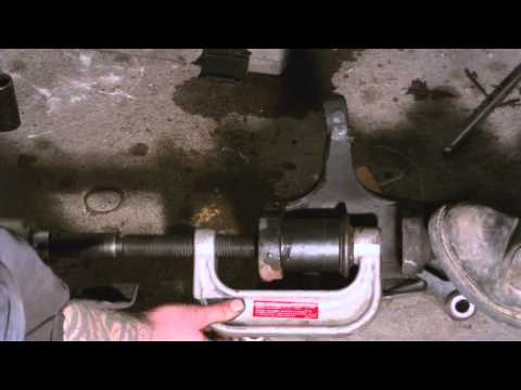 ford E250 ball joint removal and installation