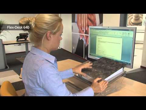 BakkerElkhuizen FlexDesk 640 multifunctional document holder