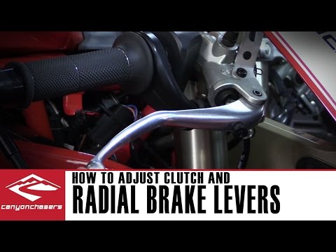 How to adjust the brake and clutch lever on Ducati (and Yamaha) Motorcycles