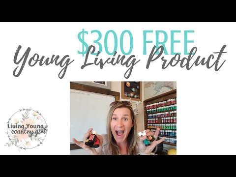 $300 in FREE Young Living Products