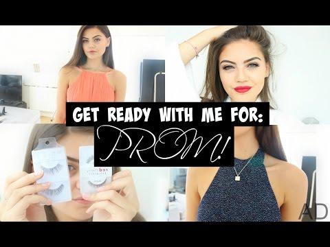 GRWM for Prom 2015 | Help me choose a dress!!!