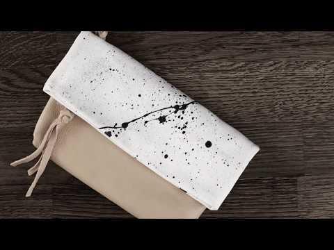 DIY Panduro – Leather clutch bag