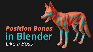 Position Bones in Blender like a Boss