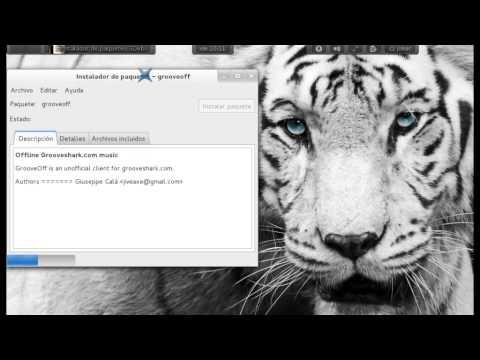 Descarga música Grooveoff Debian 7, Archlinux, opensuse, mageia, fedora 17,18, ubuntu, etc.